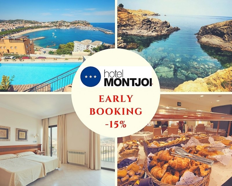 EARLY BOOKING 15% - Hotel Montjoi