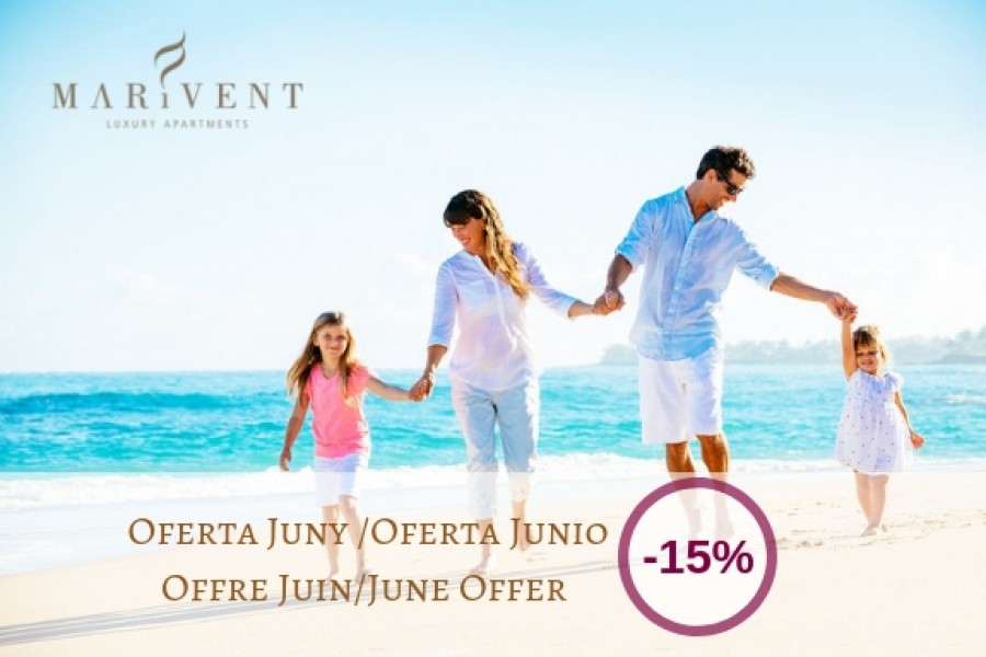 JUNE FAMILY ESCAPE - Marivent Apartments