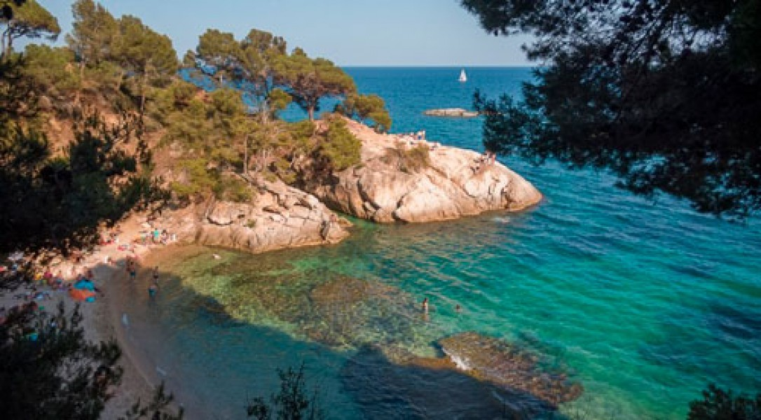PLAYAS DE LA  COSTA BRAVA