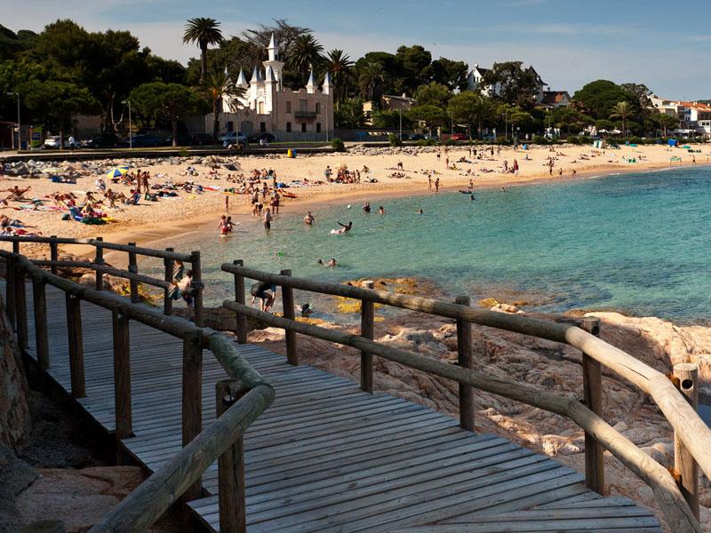 Vacaciones familiares en Sant Feliu de Guíxols
