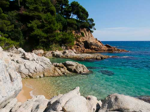 Beaches on the Costa Brava